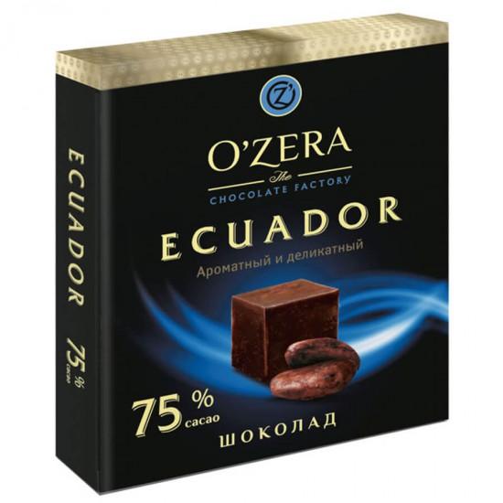 Шоколад Ecuador, содержание какао 75%, 90 г