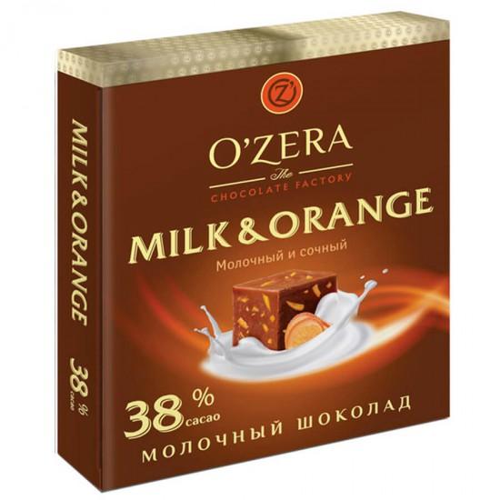 Шоколад молочный Milk & Orange, 90 г