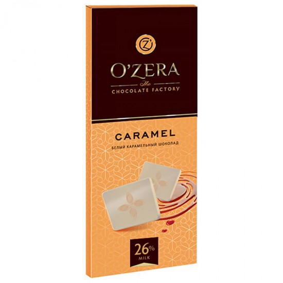 Шоколад белый карамельный Caramel, 90 г