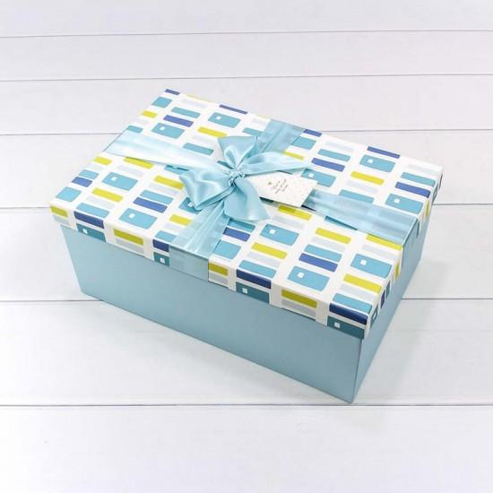 Средняя Коробка с атласным бантиком