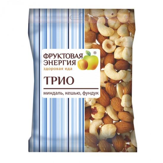 Смесь ореховая миндаль, кешью, фундук Трио 35г