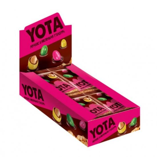 Драже арахис Yota, в молочно-шоколадной и сахарной глазури, 40 гр