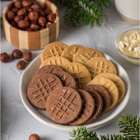 Печенье песочное с Какао и Арахисом,100 гр, без глютена (Нутвил)