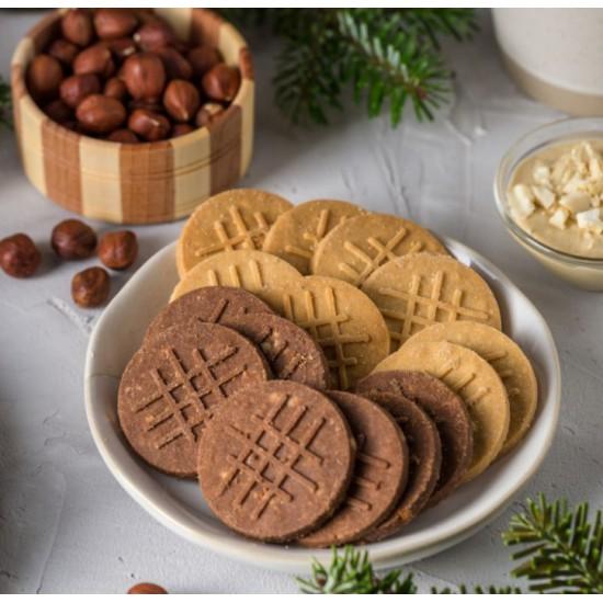 Печенье песочное с Кунжутом,100 гр, без глютена (Нутвил)