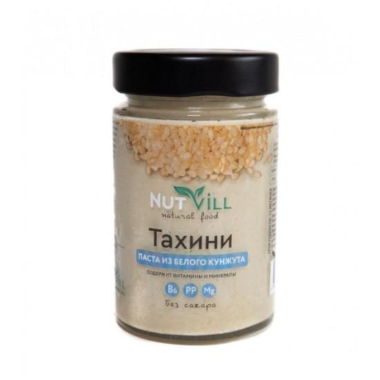 Паста ТАХИНИ из белого кунжута 180 гр (Нутвил)