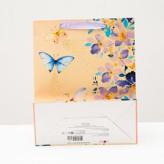 Пакет Бабочки 26 x 32 x 12 см